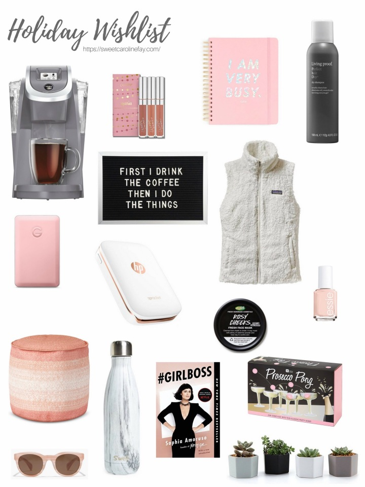 Holiday Wishlist: 2017